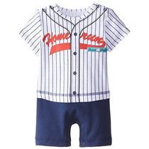 Mejores Comienzos Bebé-niños Recién Nacidos Béisbol Mameluco