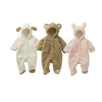 [babytree] Invierno Bebé Animal Fleece Jacket / Escudo / Sia