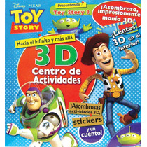 3d Centro De Actividades: Disney Toy Story 3