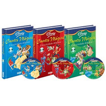 Cuentos Magicos Disney 3 Vols + 3 Cd-audio Oceano