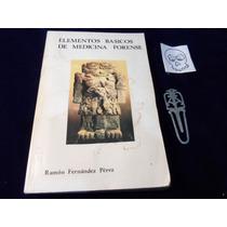 Elementos Basicos De Medicina Forense Ramon Fernandez Perez
