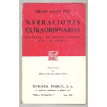 Narraciones Extraordinarias / Edgar Allan Poe