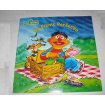 Libro Cuentos Para Niños De Plaza Sesamo Elmo Come-galletas