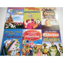Los Mejores Cuentos Y Fabulas Para Pequeñines 6 Libros