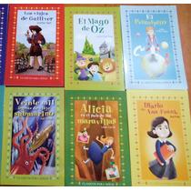6 Cuentos Infantiles, Paquete Prncipito, Ana Frank,mago Oz