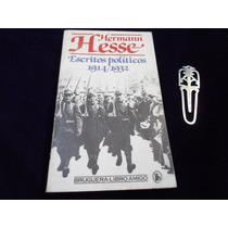Escritos Politicos 1914-1932 Hermann Hesse