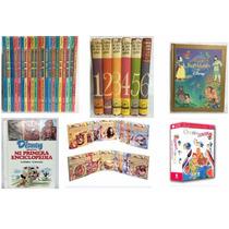 Mi Primera Enciclopedia Disney Libro Oro Niños Cuentos Paq4