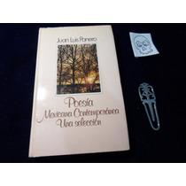 Poesia Mexicana Contemporanea Seleccion Juan Luis Pinero