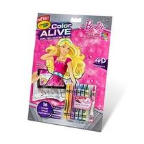 Crayola Color Alive Acción Colorear - Barbie