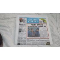Periodico Usa Today - Back To The Future / Volver Al Futuro