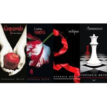 Crepusculo - Stephenie Meyer Saga Completa Libros Digitales