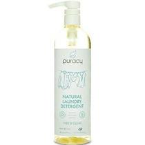 Puracy Natural Líquido Detergente De Lavandería, Libre De Su