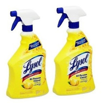 2 Pk Lysol All-purpose Cleaner Gatillo Limón Breeze Perfume