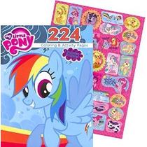 Mi Pequeño Pony Para Colorear Gigante Y Libro De Actividades