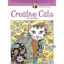 Creative Haven Creative Cats Libro Colorear Gatos