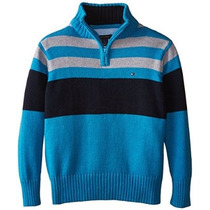 Wayne Suéter Zip Tommy Hilfiger Little Boys