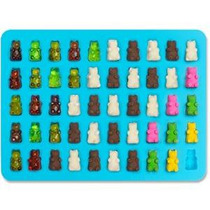 Lucenteeâ® Gummy Bears Moldes Para Hard Candy & Chocolate De