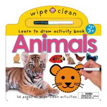 Animals: 26 Wipe-clean Pages Of Early, Robert Tainsh