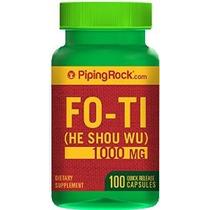 Fo-ti Raíz De He-shou-wu 1000 Mg 100 Cápsulas