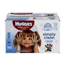 Huggies Simplemente Bebé Clean Wipes Refill 768 Conde