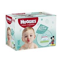 Huggies One & Done Refrescante Bebé Wipes Refill 552 Conde