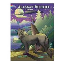 Alaskan Wildlife Coloring Book, Jan Sovak