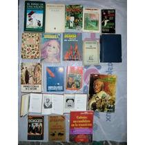 Lote De 20 Libros De Novela, Poesia Y Biografía