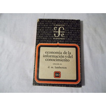 Libro Economía De La Información Y Del Conocimiento D.m. La.