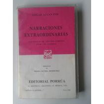 Libro Narraciones Extraordinarias / Edgar Allan Poe Op4
