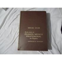 Libro Guía Para El Examen Médico Profesional De Rypins, A.w.