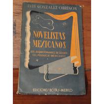 Luis González Obregón Novelistas Mexicanos