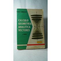 Libro Calculo Geometria Analitica Vectores John F Randolph