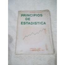 Libro Principios De Estadística, Alfredo Navarro.