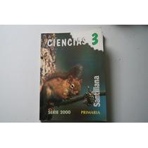 Libro Ciencia 3 Serie 2000 Primaria Santillana
