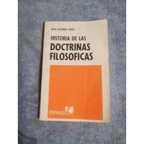 Libro Historia De Las Doctrinas Filosóficas, Raúl Gutiérrez