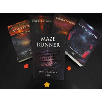 Saga Maze Runner 5 Tomos + Correr O Morir Edición Especial