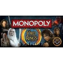 Monopolio: El Señor De Los Anillos Edición Coleccionista