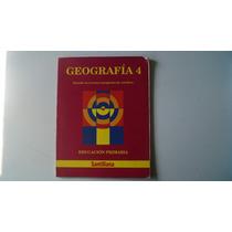 Libro Geografía 4 Primaria Santillana