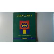 Libro Ciencias 3 Primaria Santillana