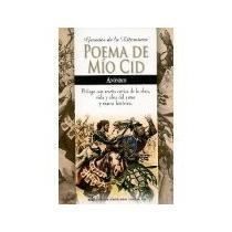 Libro Poema De Mio Cid -1899