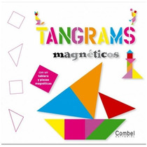 Tangrams Magnéticos Libro Juego J Tremaine 48 Pags 4+ Combel