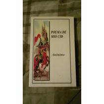 Libro El Poema De Mio Cid.