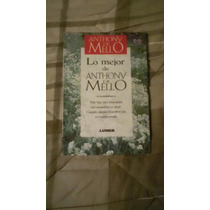 Libro Lo Mejor Deanthony De Mello.