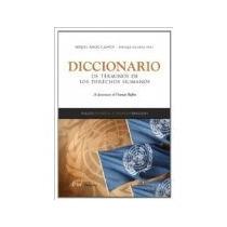 Libro Diccionario De Terminos De Derechos Humanos Ingles Esp