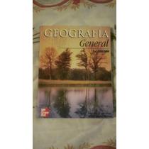 Libro Geografía General, Eva Fabián Ceniceros, Alicia E. M.