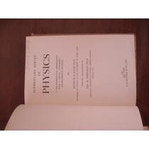 Libro Antiguo Elementary Survey Of Physics Del Año De 1938