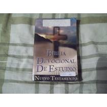 Libro Biblia Devocional De Estudio.