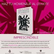 Libro Don Quijote De La Mancha Edición Del 4to. Centenario.