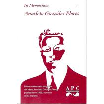 In Memoriam Anacleto González Flores