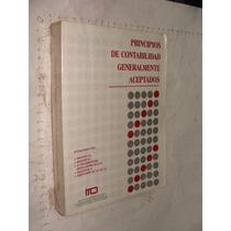 Libro Principios De Contabilidad Generalmente Aceptados , Añ